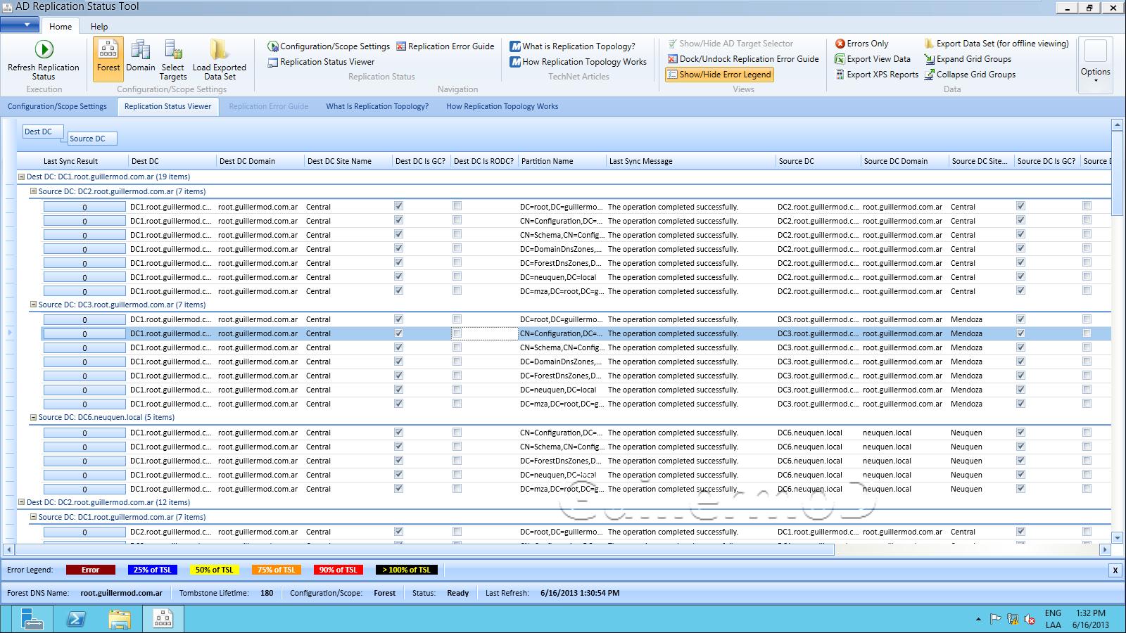 Instalación de Active Directory – Comprobaciones Finales – Nota XII WindowServer