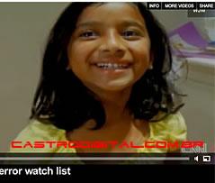 IMAGEM - Alyssa Thomas - menina de 6 anos considerada terrorista nos EUA