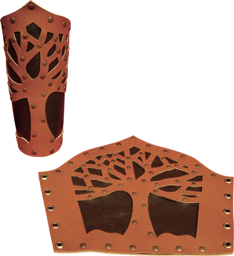 Armure Épique ! -Griffe Du Dragon Noir- Bracer-arbre-brun