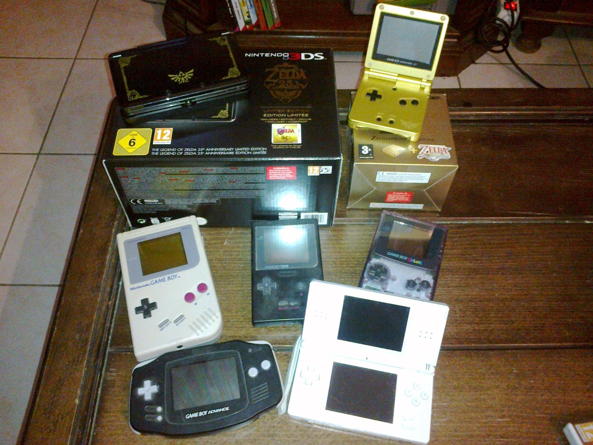 Ma Collection de Jeux vidéo GameBoy