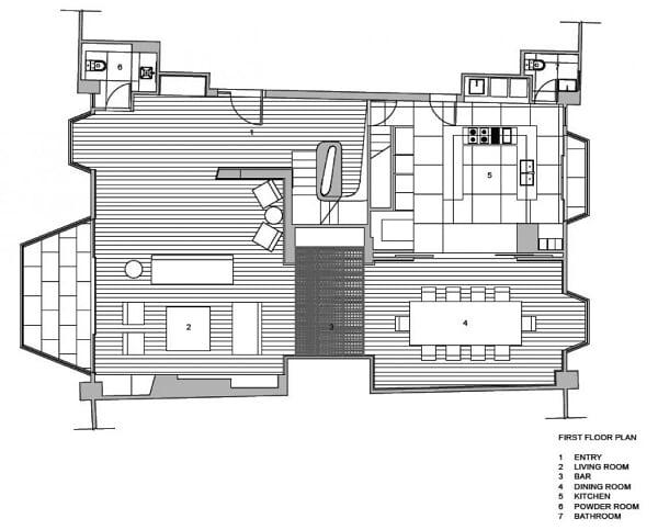 planos, Residencia Barker - davidclovers