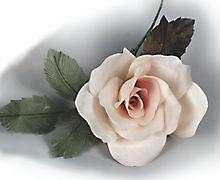 طريقة عمل الورد القماش...