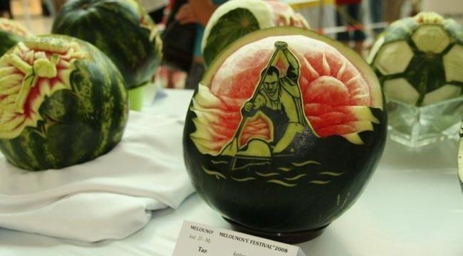 الرسم على البطيخ 15