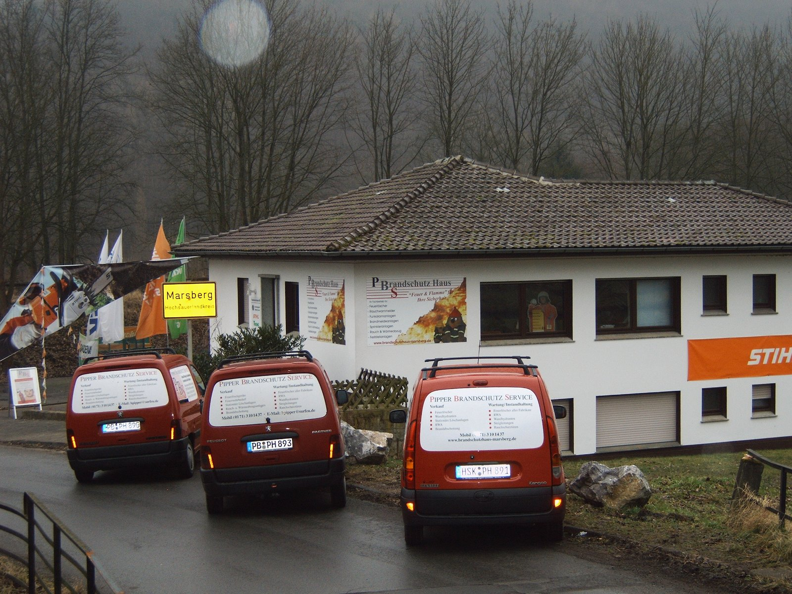 Brandschutzhaus Marsberg