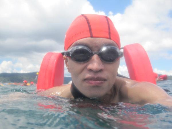 泳渡日月潭