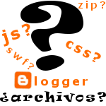 Archivos en Blogger ya¡¡¡