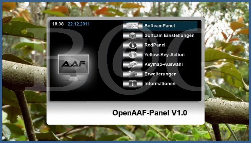 OpenAAF Image For DM 8000 23.12.2011