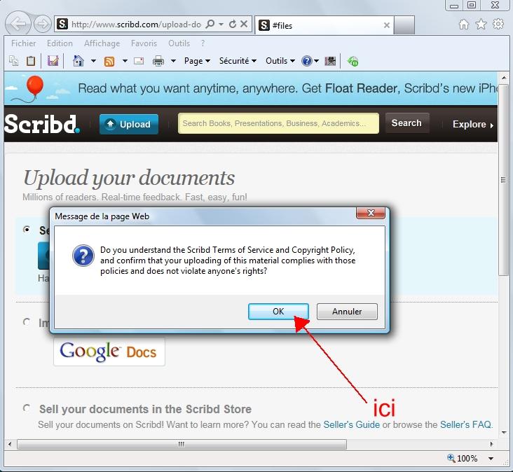 Didacticiel pour inserer un fichier PDF lisible dans un post Scribb%206