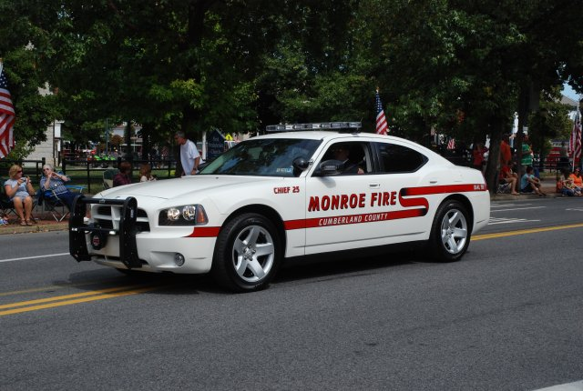 Chief 25 - 2009 Dodge Charger.  Operated by Dave Heckert, Fire Chief.
