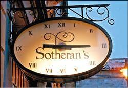 莎乐伦书店特别的时钟