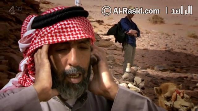 مؤذن في الصحراء