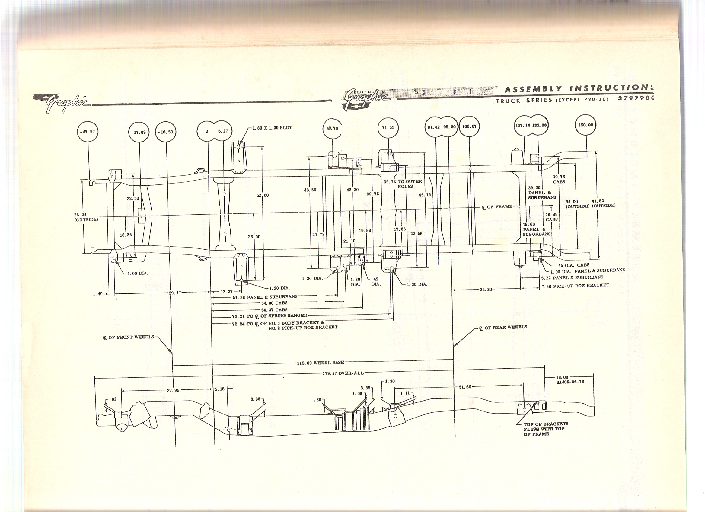1960 66 chevy gmc truck frame diagram the 1947 present lets try to make it a little easier