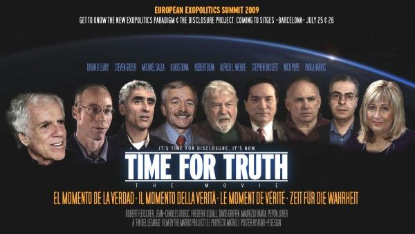 • Hercólubus y las profecías del astónomo chileno Muñoz Ferrada... - Página 2 Poster_oficial_time_for_truth_-_Cumbre_exopolitica_2009_400p