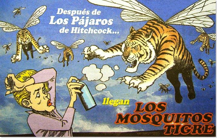 (A) Invasión de Mosquitos Tigre
