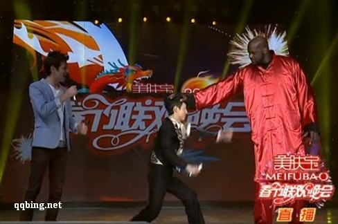 奥尼尔 功夫熊猫 2012 湖南卫视小年夜晚会