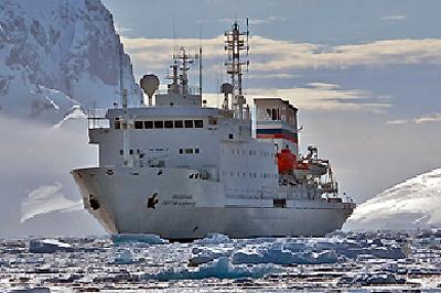 南極クルーズ/アカデミック・サージ・バビロフ号