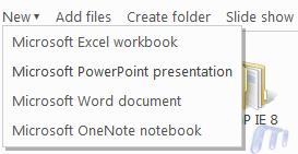 Microsoft Skydrive Office Web Apps