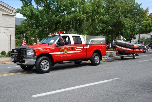 Utility 25 pulling water rescue fleet