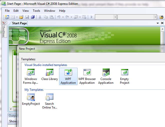 visual studio 2010 download express edition