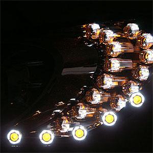 DẢI LED AUDI XE MẪU UFO HYUNDAI I30 2012