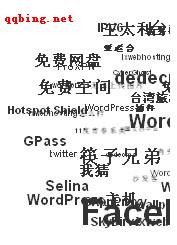 WordPress标签实现3D效果 wp-cumulus应用简介-支持中文