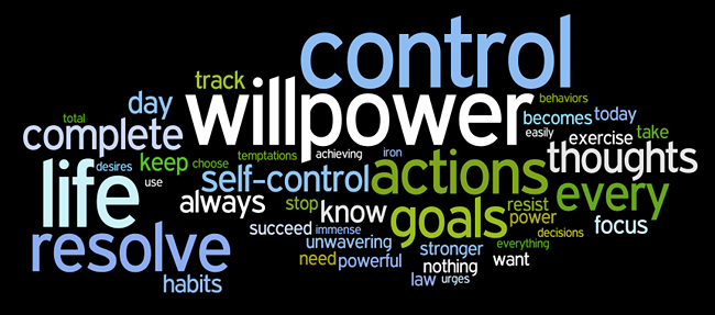 self-discipline and willpower affirmations wordle