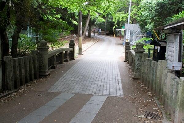 祓禊橋(みそぎばし) 明治44年竣工。