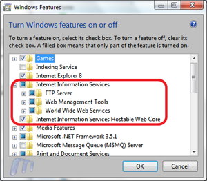 install iis7 on windows 7