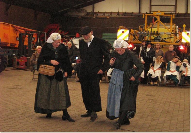 Les in dansen, Drente III dorpsfeest Exloo, zondag 20 juli 2008