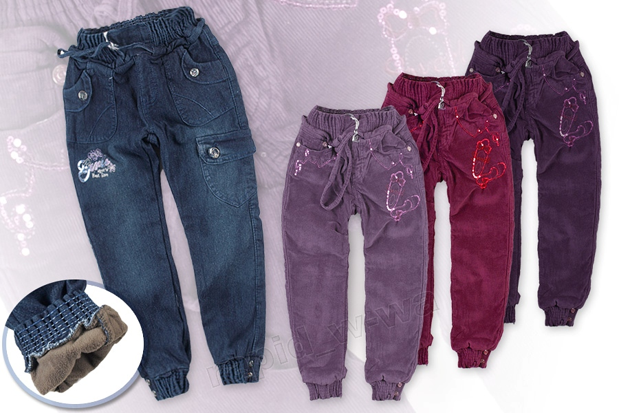 spodnie pumpy
