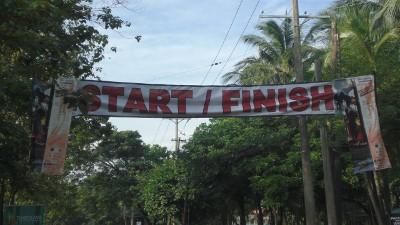 The utilitarian Start/Finish line