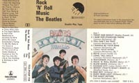1976 Rock 'N' Roll Music UK Cassette Inlay