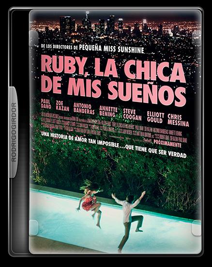 2Cover Ruby, La Chica De Mis Sueños (Ruby Sparks) [2012] [Español Latino] [BRRip Xvid]