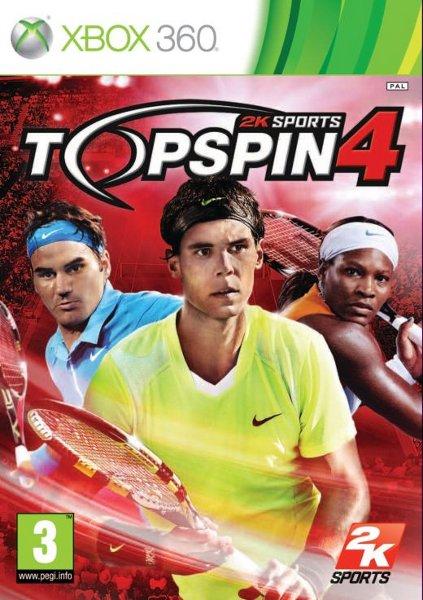 Top Spin 4 Jtag/Rgh Español 5.34 GB Mega +5
