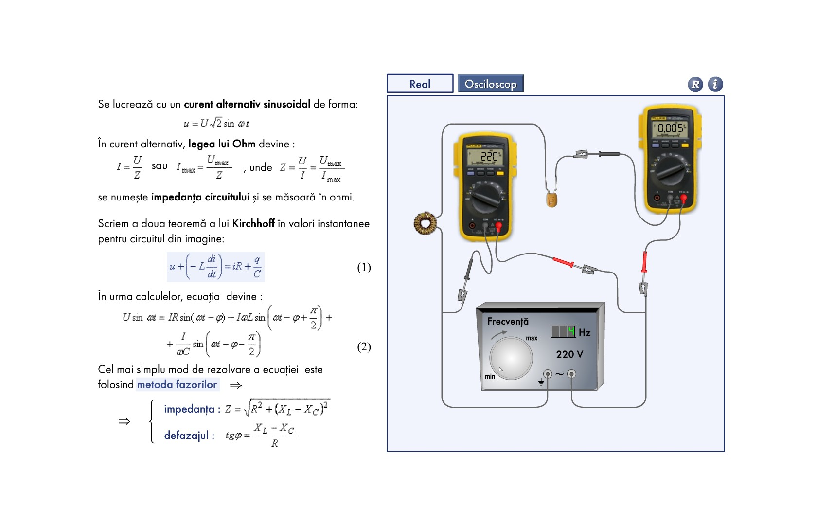 Circuit RLC serie
