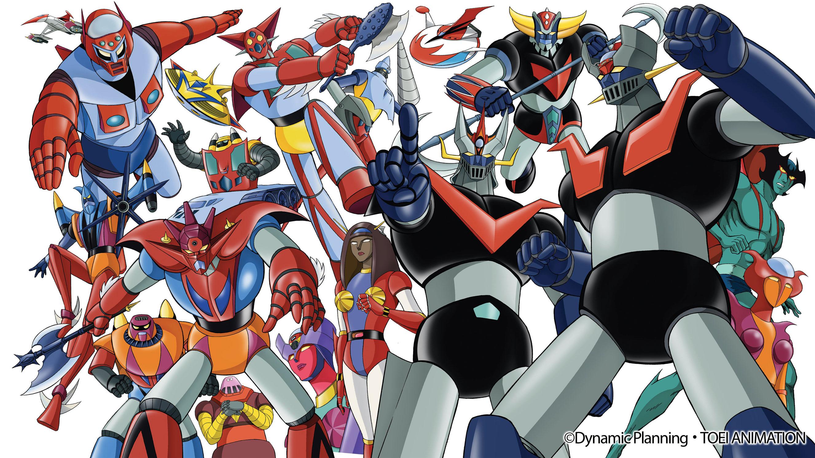 notti dei super robot poster
