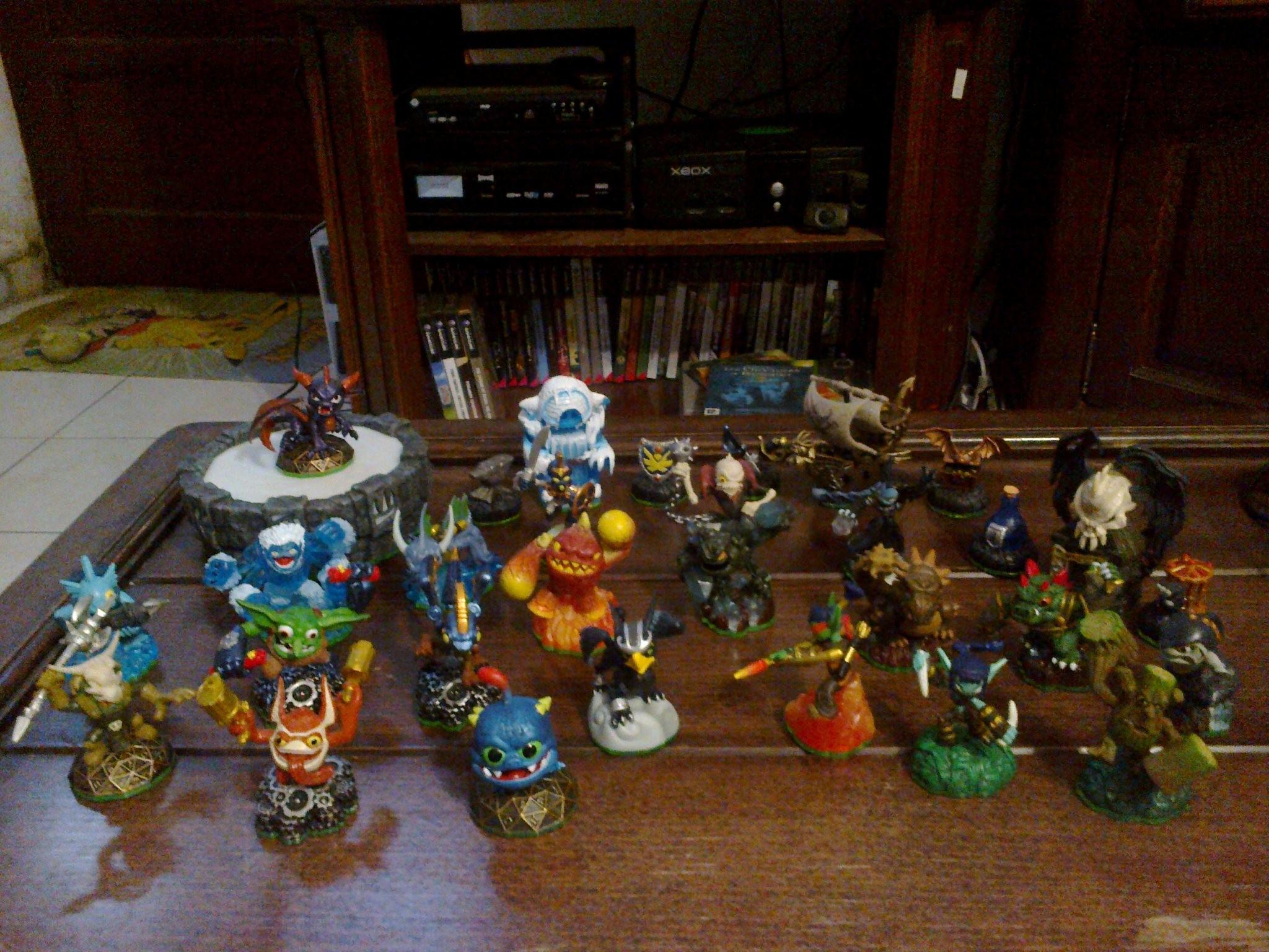 Ma Collection de Jeux vidéo Collection%20Skylander