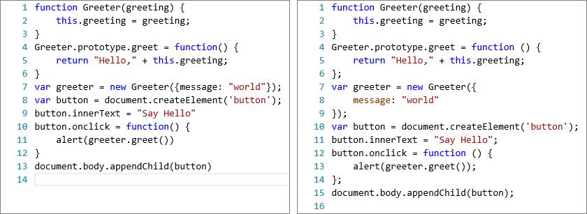 typescript javascript development at application scale