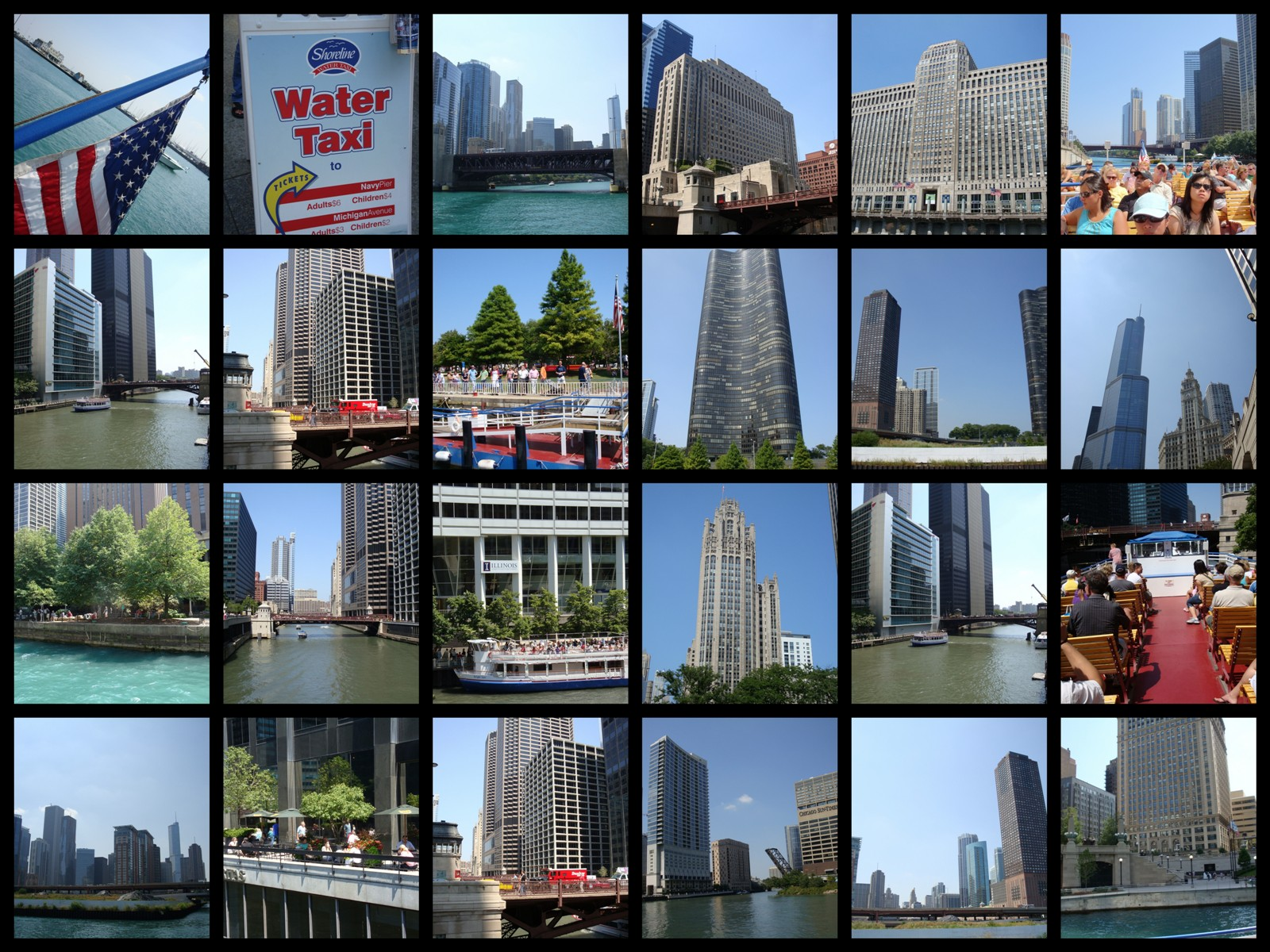 Chicago Water Taxi Tour