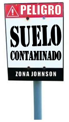 Imagen referida a Suelo Contaminado en Zona Johnson