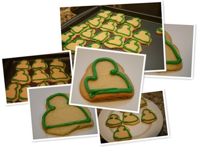 View Messenger Holiday Cookies - 1st Attempt