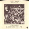 Happy Xmas (War is Over) USA single picture sleeve