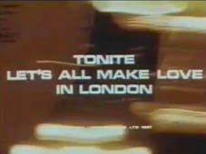 1967 Tonite Let's All Make Love in London