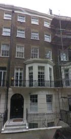 34 Montagu Square, London - Home of John Lennon and Yoko Ono in 1968