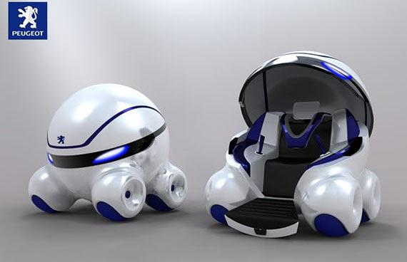 IMAGEM - Veículo do futuro - Coro, carro-bola