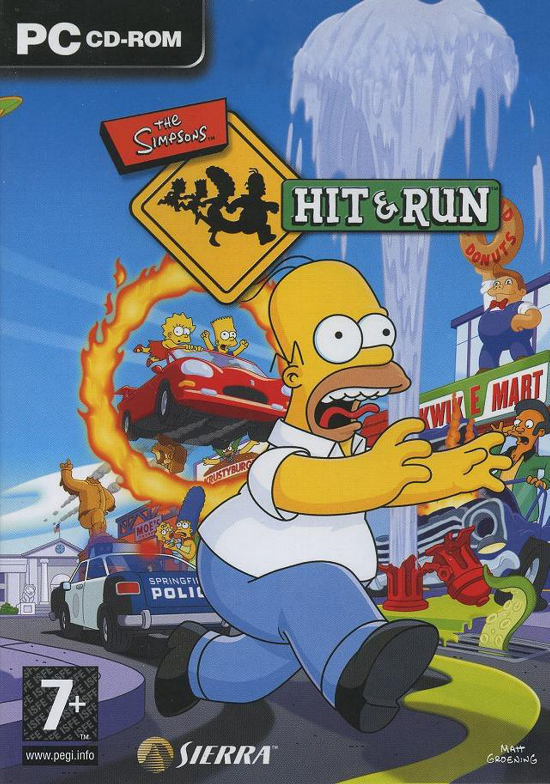 Los Simpsons Hit & Run [Full] [Español] [.iso] [MU]