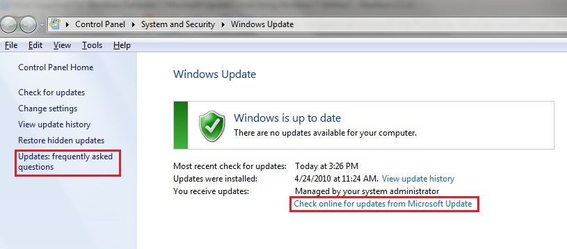 Microsoft update windows 7 скачать - фото 9