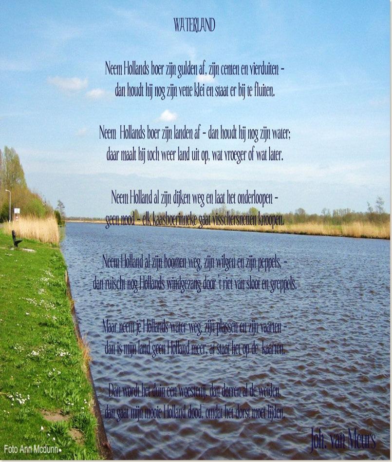 Gedicht Joh. van Meurs