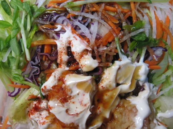 炸蝦美奶滋沙拉