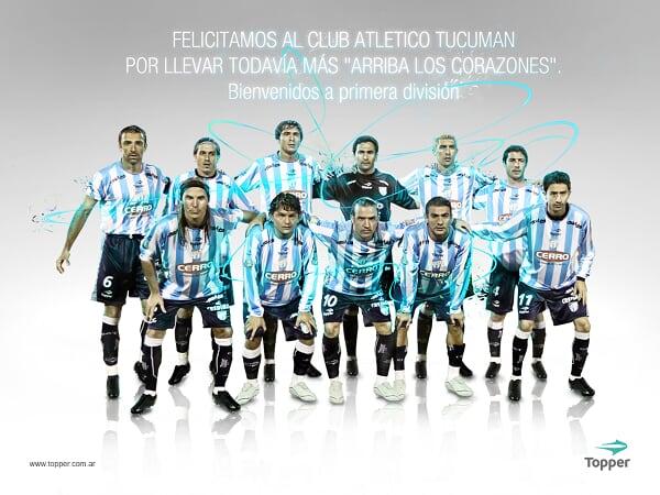 Atlético Tucumán, un campeón de Primera!!! [editado]